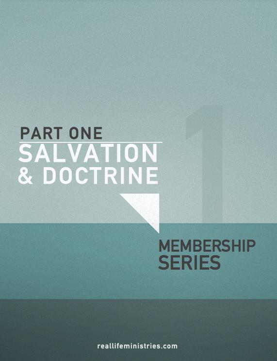 Church Membership: SALVATION, DOCTRINE, STRUCTURE & PHILOSOPHY