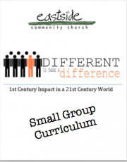 Different to Make a Difference – Small Group Curriculum