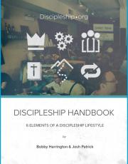Discipleship Handbook – 6 Elements of a Discipleship Lifestyle