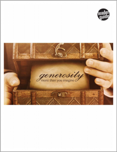Generosity – Small Group Curriculum