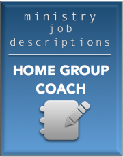 Ministry Job Description – Home Group Coach
