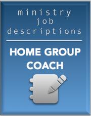 Ministry Job Description – Home Group Coach (FREE)