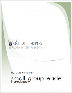 RLM Small Group Leader Handbook