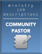 Ministry Job Description – Community Pastor (FREE)