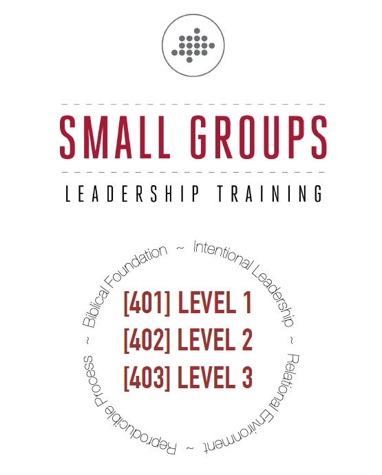 Small Group Leader Training – 400 Series