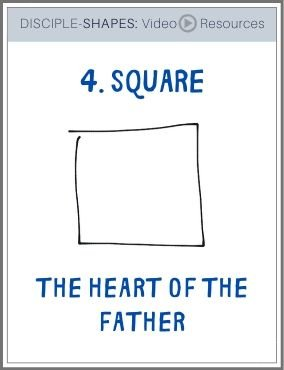 DISCIPLE-SHAPES-4. Square: The Heart of the Father