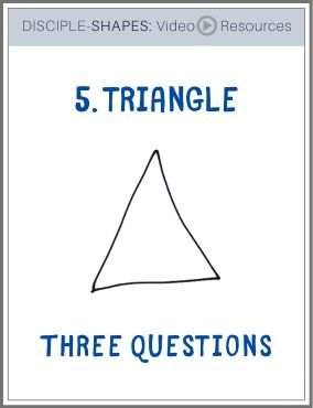 DISCIPLE-SHAPES-5. Triangle: Three Questions