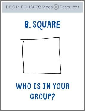 DISCIPLE-SHAPES-8. Who is in your group?