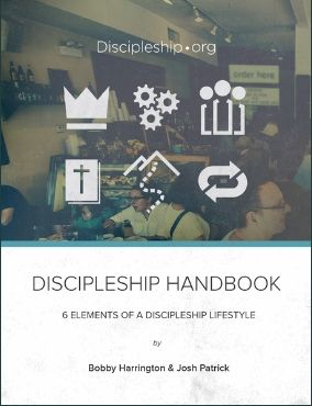 Discipleship Handbook – 6 Elements of a Discipleship Lifestyle