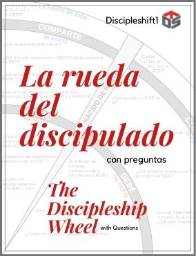 SPANISH / ESPAÑOL – The Discipleship Wheel (with questions)